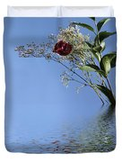 Rosy Reflection - Right Side Duvet Cover