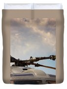 Rotor Navy Helicopter. Duvet Cover