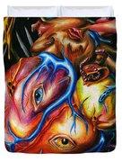 Rotting Heart Duvet Cover