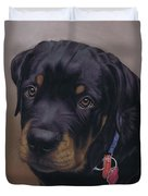 Rottweiler Dog Duvet Cover