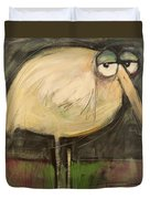 Rotund Bird Duvet Cover