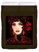 Rouge Duvet Cover