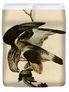 Rough-legged Falcon Duvet Cover