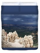 Rough Skys Over Bryce Canyon Duvet Cover