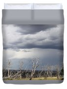 Rough Skys Over Colorado Plateau Duvet Cover