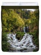 Roughlock Falls South Dakota Duvet Cover