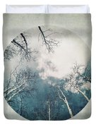 round treetops III Duvet Cover