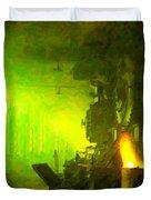 Roundhouse Morning Duvet Cover
