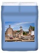 Roussillon Cemetery Duvet Cover
