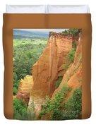Roussillon - Red Rocks  Duvet Cover