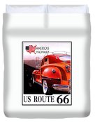 Route 66 America's Highway Duvet Cover