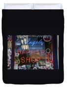 Route 66 - Angel's Barber Shop Duvet Cover