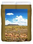 Route 66 Arizona Duvet Cover