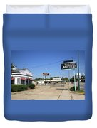 Route 66 - Boots Motel Duvet Cover