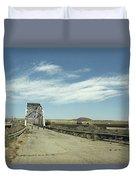 Route 66 Bridge - New Mexico Duvet Cover