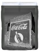 Route 66 - Coca Cola Ghost Mural Duvet Cover
