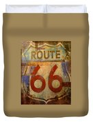 Route 66 Duvet Cover