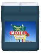 Route 66 - Desert Hills Motel Duvet Cover