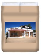 Route 66 - Desoto's Salon Duvet Cover