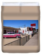 Route 66 Diner Duvet Cover