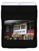Route 66 - Eisler Brothers Old Riverton Store Duvet Cover
