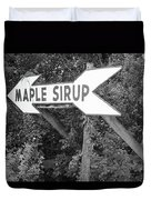 Route 66 - Funk's Grove Sirup Duvet Cover