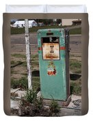 Route 66 Gas Pump - Adrian Texas Duvet Cover