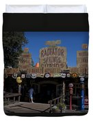 Route 66 Gift Shop Disneyland Duvet Cover