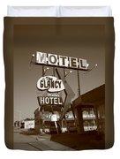 Route 66 - Glancy Motel Duvet Cover