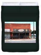 Route 66 - Hardware Store Erick Oklahoma Duvet Cover