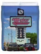 Route 66 - Metro Diner Duvet Cover