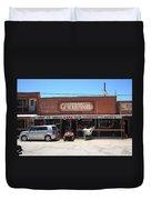 Route 66 - Oatman General Store Duvet Cover