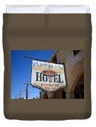 Route 66 - Oatman Hotel Duvet Cover