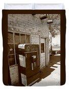 Route 66 - Rusty Coke Machine 2 Duvet Cover