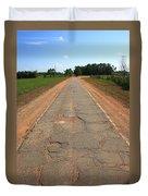 Route 66 - Sidewalk Highway Duvet Cover