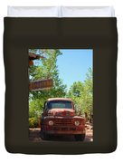 Route 66 Truck Duvet Cover