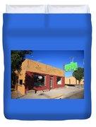 Route 66 - Uranium Cafe Duvet Cover