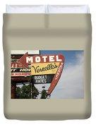 Route 66 - Vernelle's Motel Duvet Cover