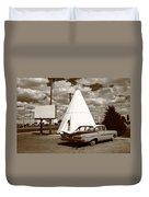 Route 66 - Wigwam Motel 15 Duvet Cover