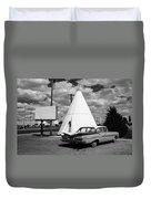 Route 66 - Wigwam Motel 7 Duvet Cover