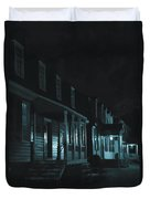 Row Homes Duvet Cover