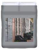 Row Of Houses II Duvet Cover