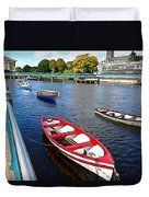 Row Row Row Your Boat Duvet Cover