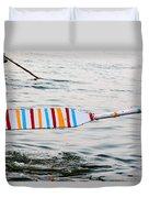 Rowing Oar Duvet Cover