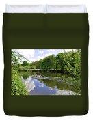 Rowing Practice - Near Branston Duvet Cover