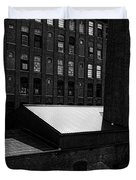 Roy Hill Mill Lewiston Maine Duvet Cover