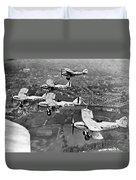 Royal Air Force Formation Duvet Cover
