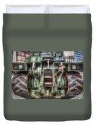 Royal Army Bulldozer Duvet Cover by Yhun Suarez