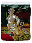 Royal Barges Museum In Bangkok-thailand Duvet Cover