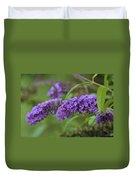 Royal Butterfly Bush Duvet Cover